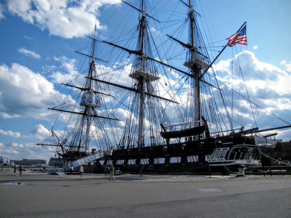 USS Constitution at the Charlestown Navy Yard