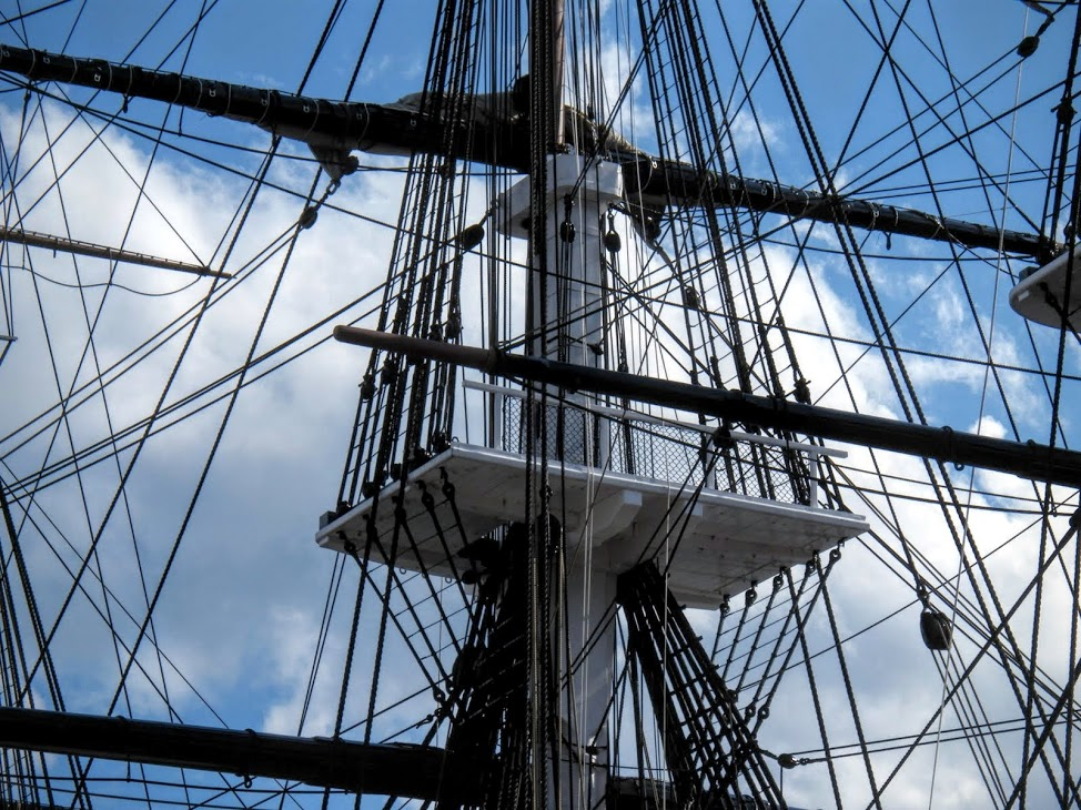 USS Constitution Crow's Nest