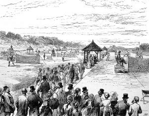 First Wimbledon Championships, 1877.