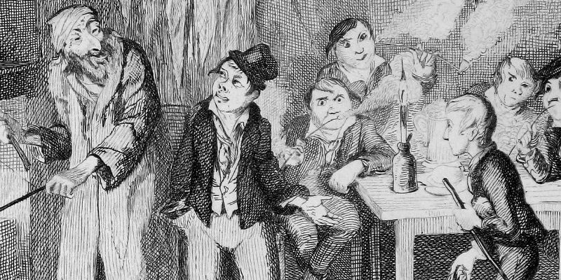 an examination of the character of fagin the jew in charles dickens oliver twist Oliver twist the character after whom the novel has been named is presented as  a  the red haired jew, fagin is the most interesting character in the novel.