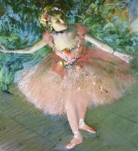 Dancers on Set by Edgar Degas, c.1880_inset 1