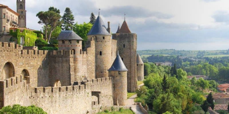 10 amazing facts about the french medieval city of carcassonne 5 minute history. Black Bedroom Furniture Sets. Home Design Ideas