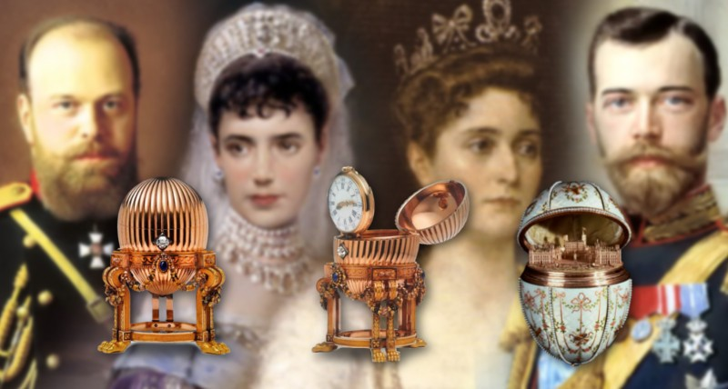 Faberge Eggs 800 x 400
