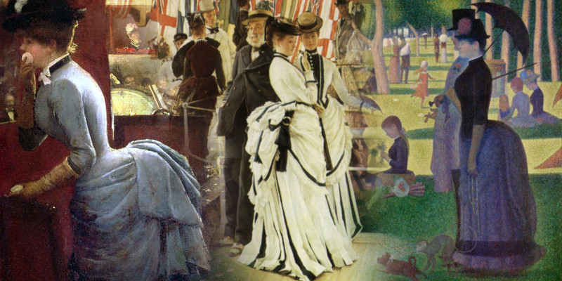 Tissot's Victorian Ladies