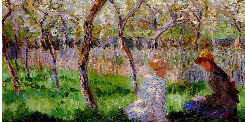 10 sublime springtime paintings from claude monet 5 for Monet paintings images