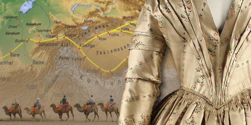 history of silk The silk road and ancient trade: in which john green teaches you about the so-called silk road, a network of trade routes where goods such as ivory, silver,.