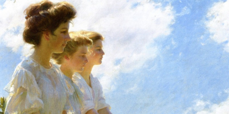 Charles Courtney Curran 800 x 400