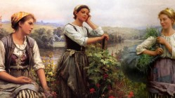Art for the Day – Daniel Ridgway Knight