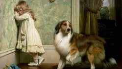 Victorian Artist Charles Burton Barber Captures the Special Bond Between Children and Pets