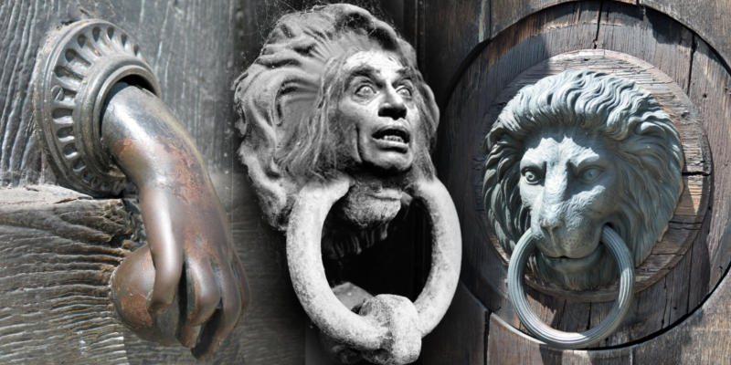Knock knock a brief history of door knockers 5 minute for 10 downing street lion authentic foundry door knocker
