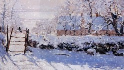 An Impression of Winter by Claude Monet