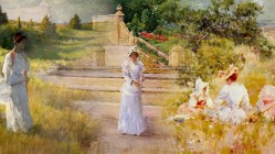 A Slice of American Life in a Gilded Age by William Merritt Chase