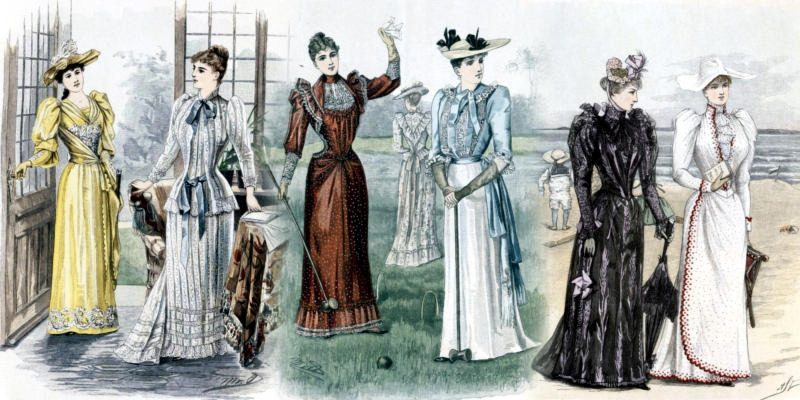 Women S Fashions Of The Late Victorian Era 5 Minute History