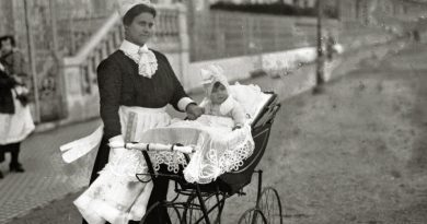 Vintage Baby Carriers of Bygone Times